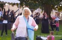 Altona Beach Festival – Elvira having a great time!